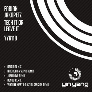 Fabian Jakopetz – Tech It Or Leave It